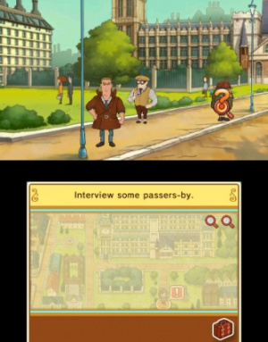 Layton's Mystery Journey: Katrielle and the Millionaires' Conspiracy Review - Screenshot 2 of 6