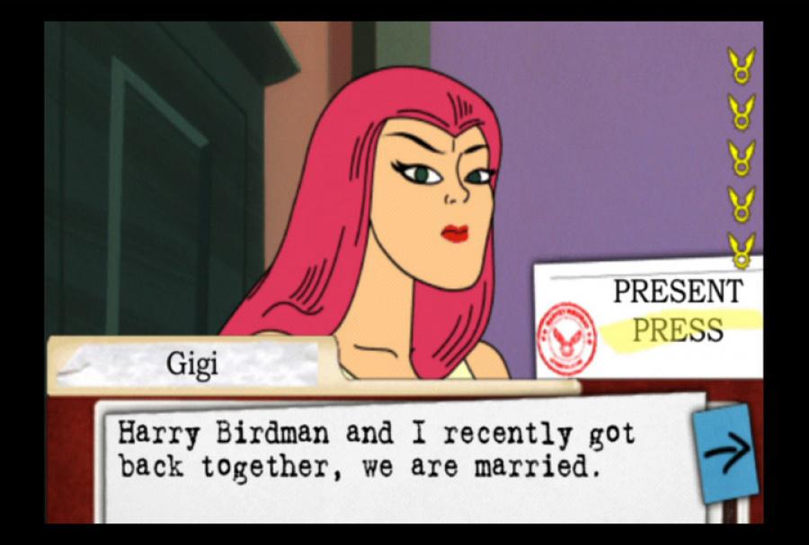 Harvey Birdman: Attorney at Law Review - Screenshot 1 of 5