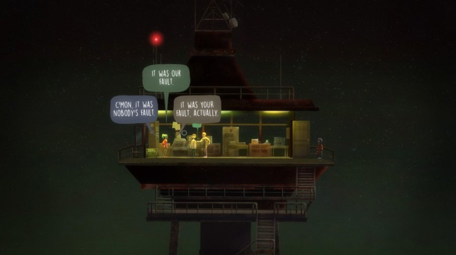 Oxenfree Review - Screenshot 1 of 4