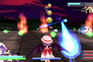 Touhou Kobuto V: Burst Battle Screenshot
