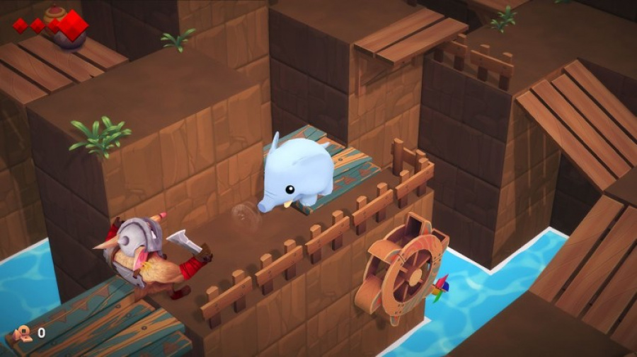 Yono And The Celestial Elephants Review - Screenshot 2 of 4