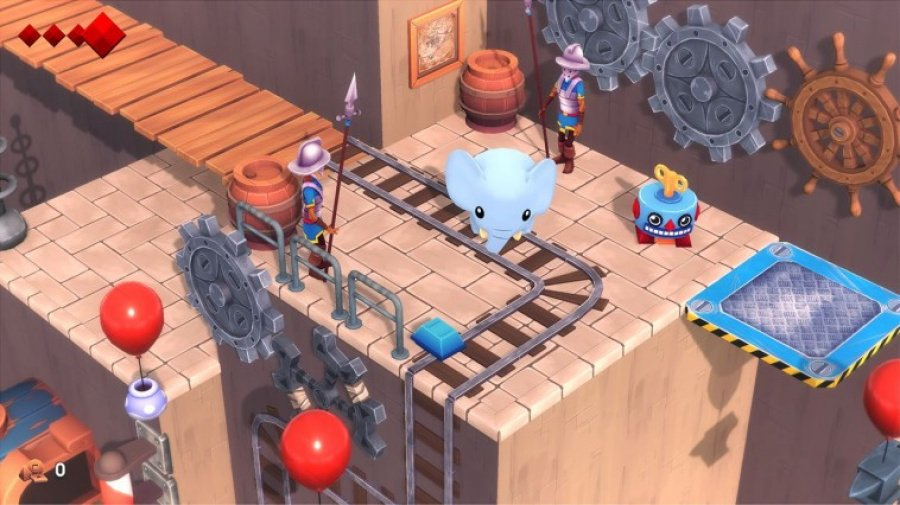 Yono And The Celestial Elephants Review - Screenshot 1 of 4