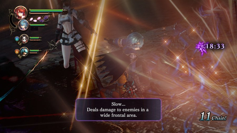 Nights of Azure 2: Bride of the New Moon Review - Screenshot 1 of 7