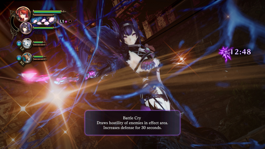 Nights of Azure 2: Bride of the New Moon Review - Screenshot 3 of 9