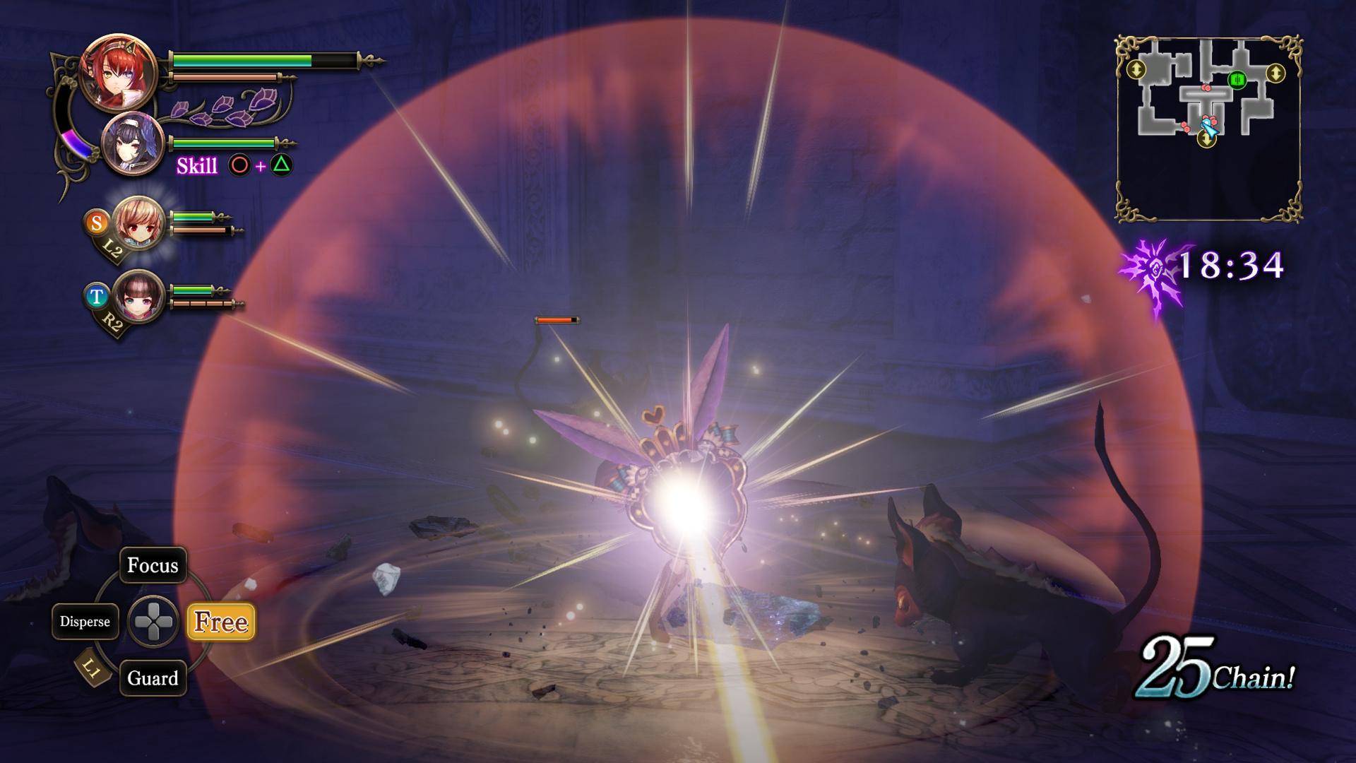 night of the full moon gameplay