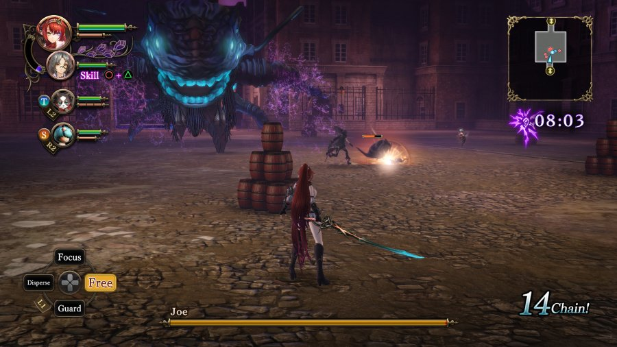 Nights of Azure 2: Bride of the New Moon Review - Screenshot 7 of 8