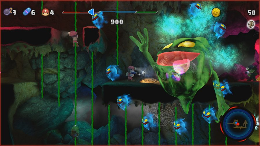 Spelunker Party! Review - Screenshot 1 of 3