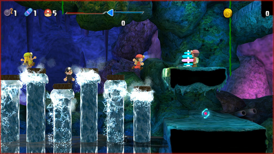 Spelunker Party! Review - Screenshot 2 of 3