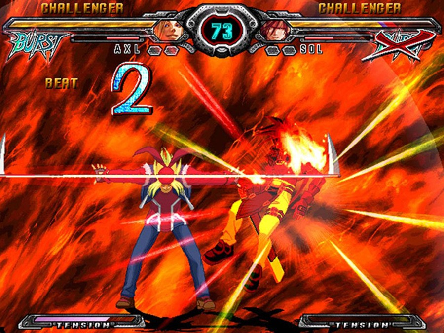 Guilty Gear XX Accent Core Screenshot