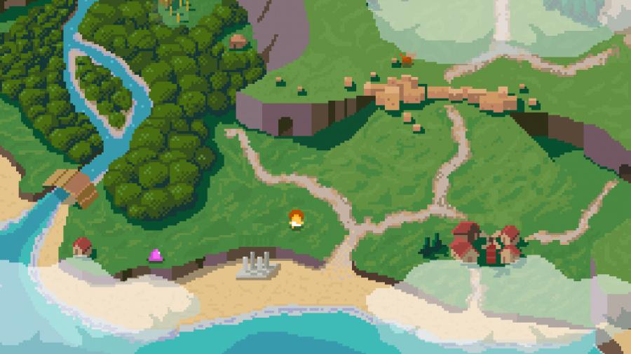 Elliot Quest Review - Screenshot 1 of 3