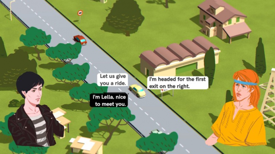 Wheels of Aurelia Review - Screenshot 2 of 4