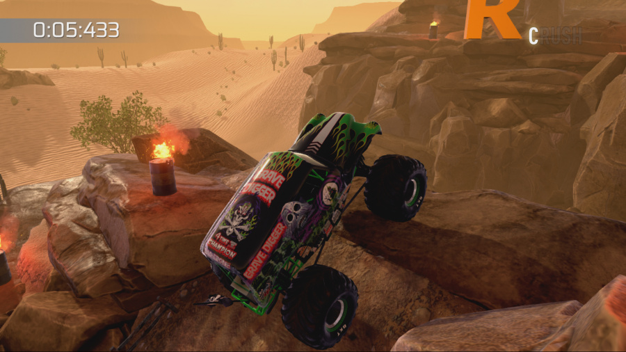 Monster Jam: Crush It! Review - Screenshot 2 of 3