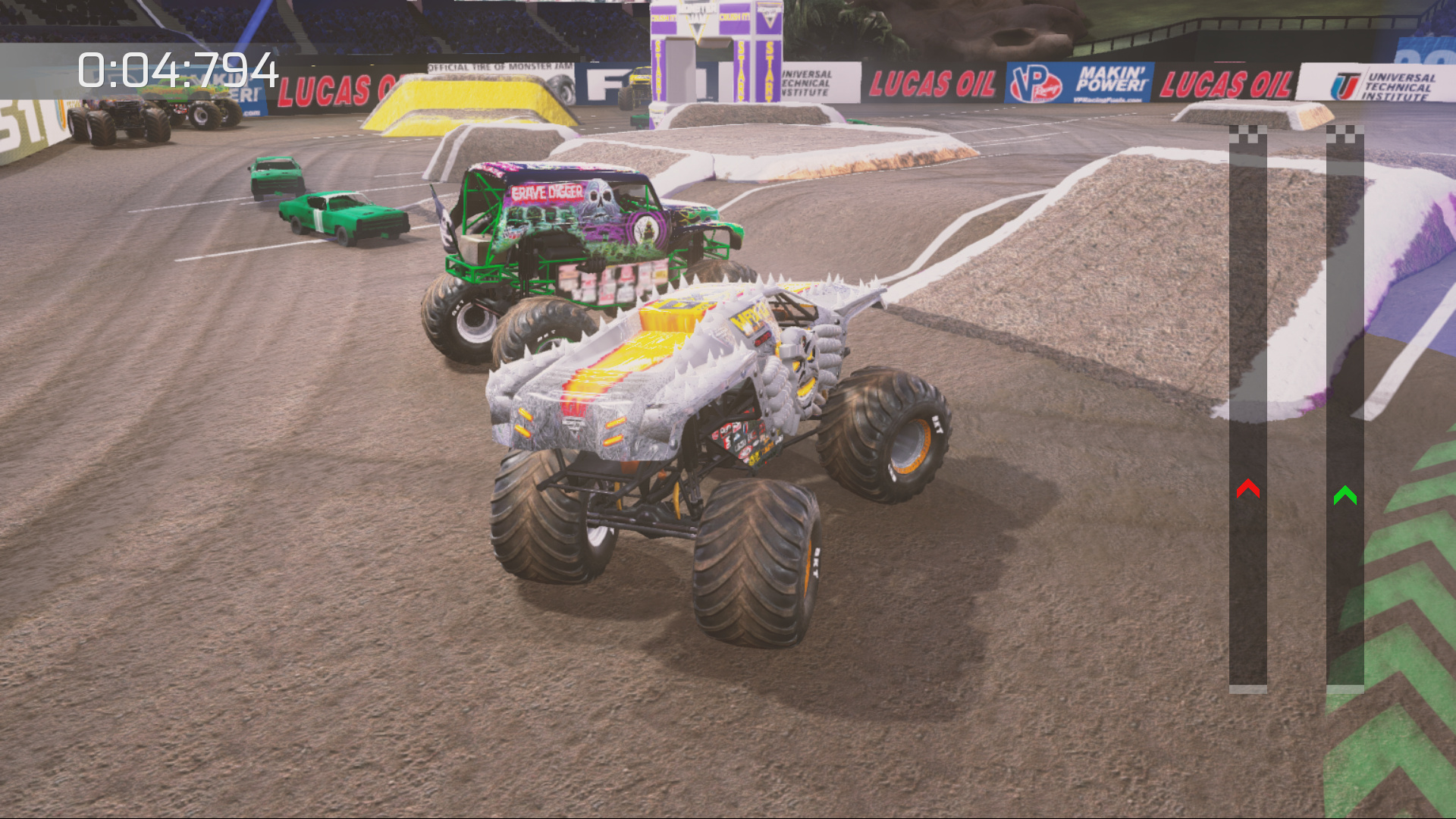 Monster Jam: Crush It! Review - Screenshot 1 of 3