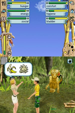 The Sims 2: Castaway Review - Screenshot 1 of 3