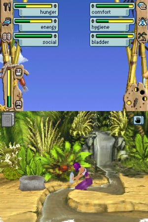 The Sims 2: Castaway Review - Screenshot 1 of 2