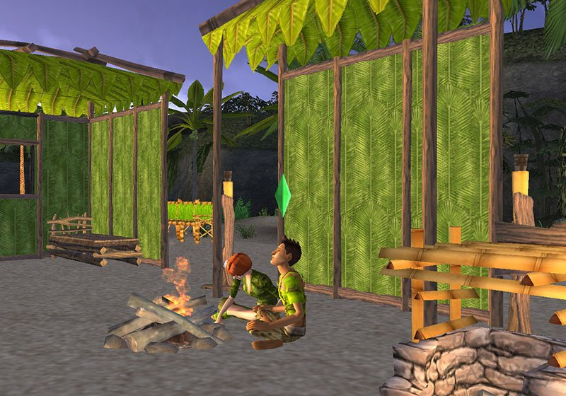 The Sims 2: Castaway Screenshot