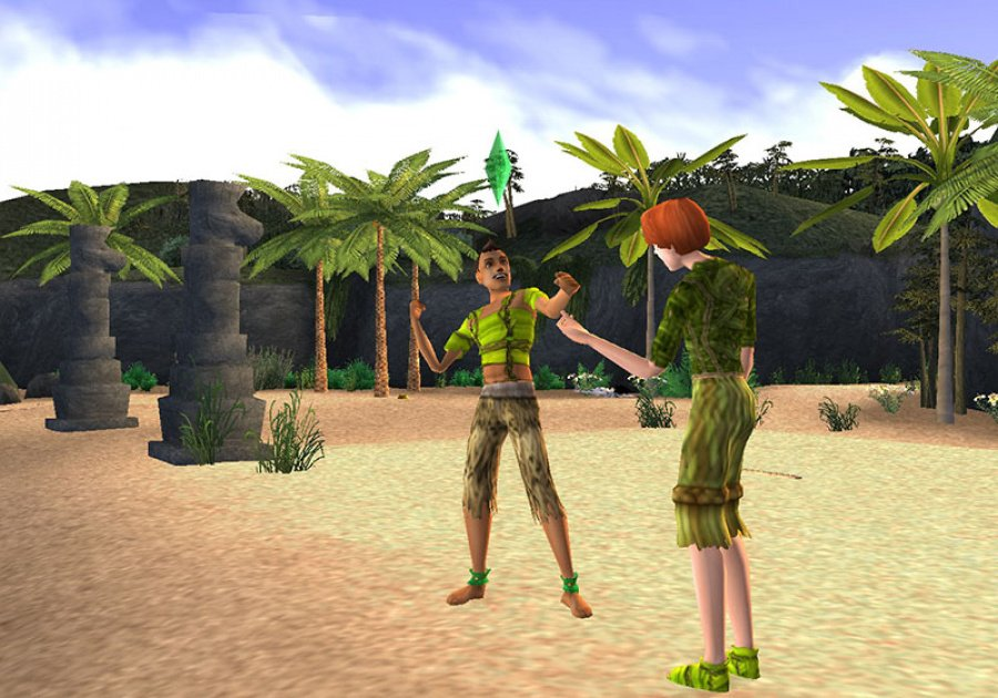 The Sims 2: Castaway Review - Screenshot 1 of 5