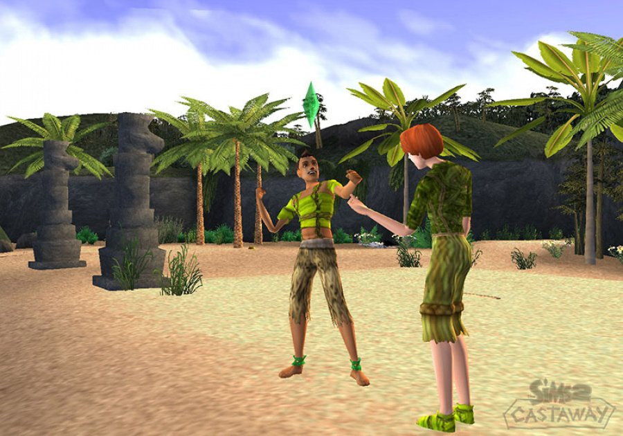 The Sims 2: Castaway Review - Screenshot 2 of 5