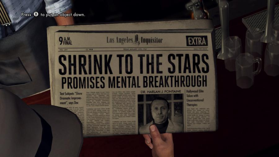 L.A. Noire Review - Screenshot 1 of 6
