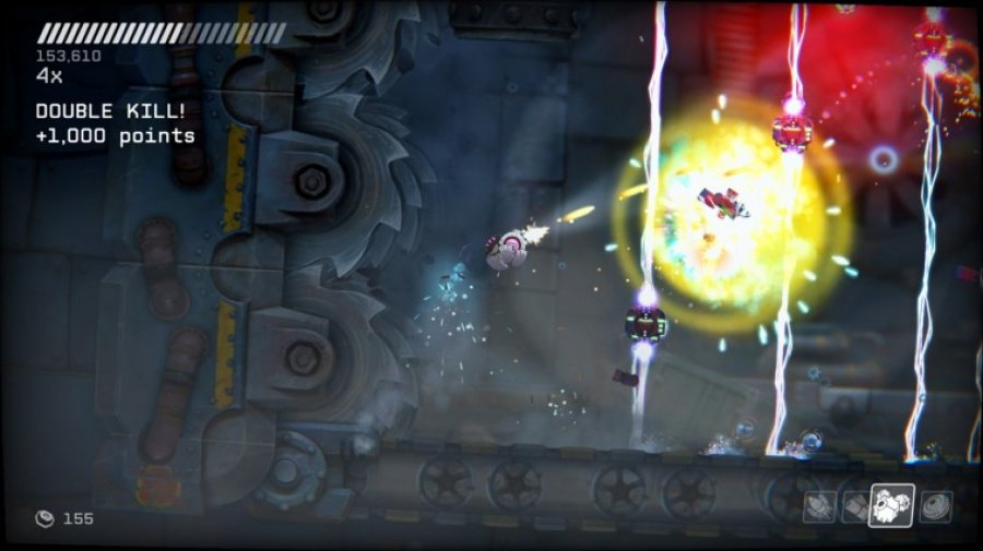 RIVE: Ultimate Edition Review - Screenshot 4 of 5