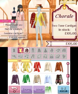 Nintendo presents: New Style Boutique 3 - Styling Star Review - Screenshot 6 of 12