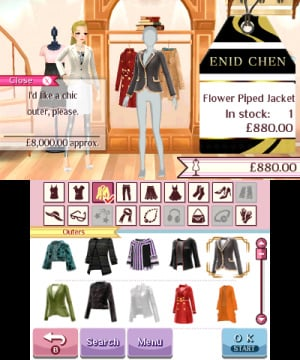 Nintendo presents: New Style Boutique 3 - Styling Star Review - Screenshot 5 of 12