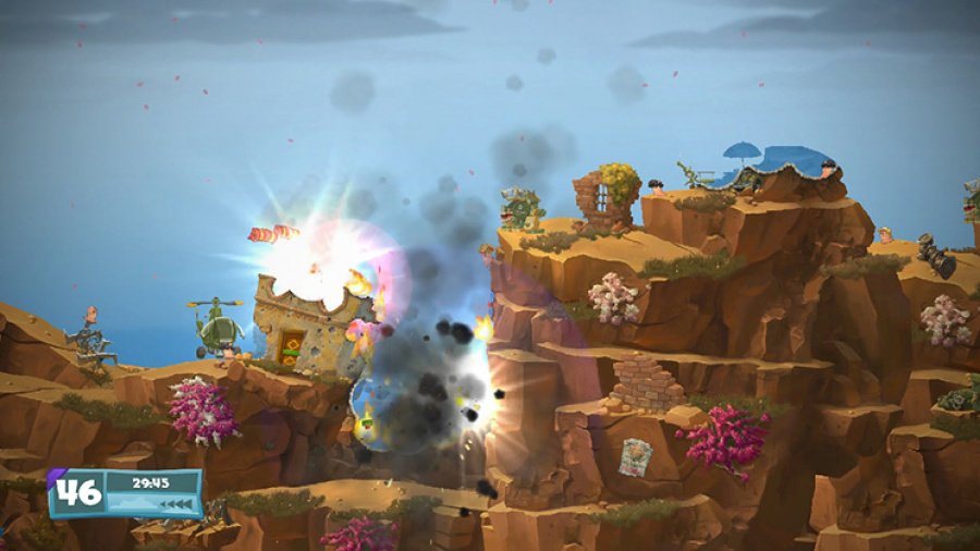 Worms W.M.D. Review - Screenshot 3 of 5