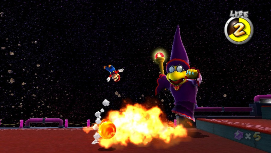 Super Mario Galaxy Screenshot