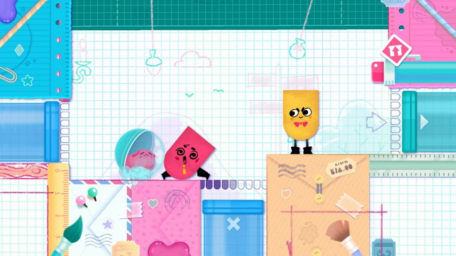 Snipperclips Plus: Cut it out, together! Review - Screenshot 1 of 4