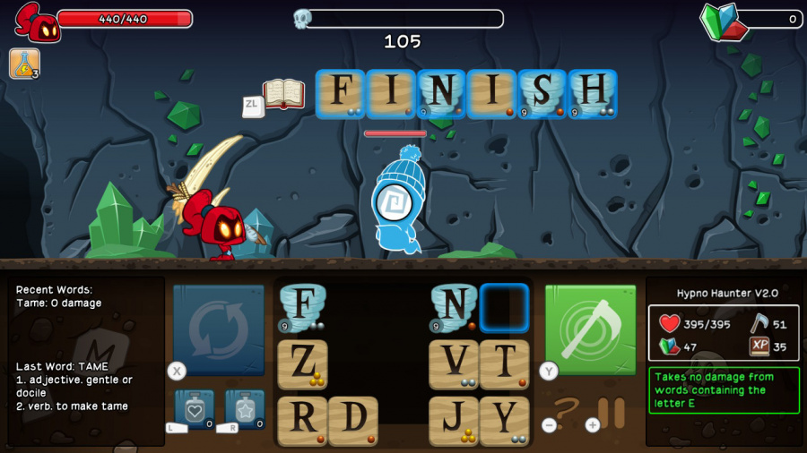 Letter Quest Remastered Review - Screenshot 2 of 4