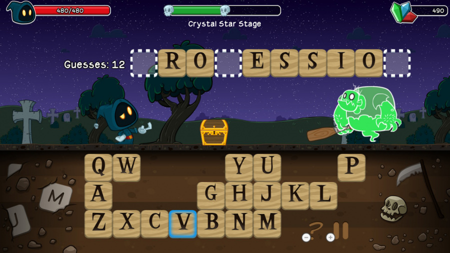 Letter Quest Remastered Review - Screenshot 1 of 4