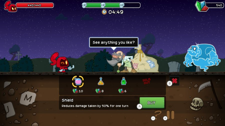 Letter Quest Remastered Review - Screenshot 3 of 4