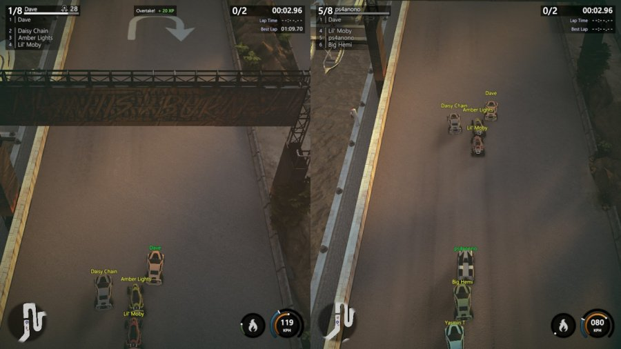 Mantis Burn Racing Review - Screenshot 2 of 8