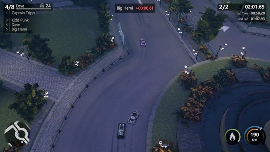 Mantis Burn Racing Review - Screenshot 3 of 8