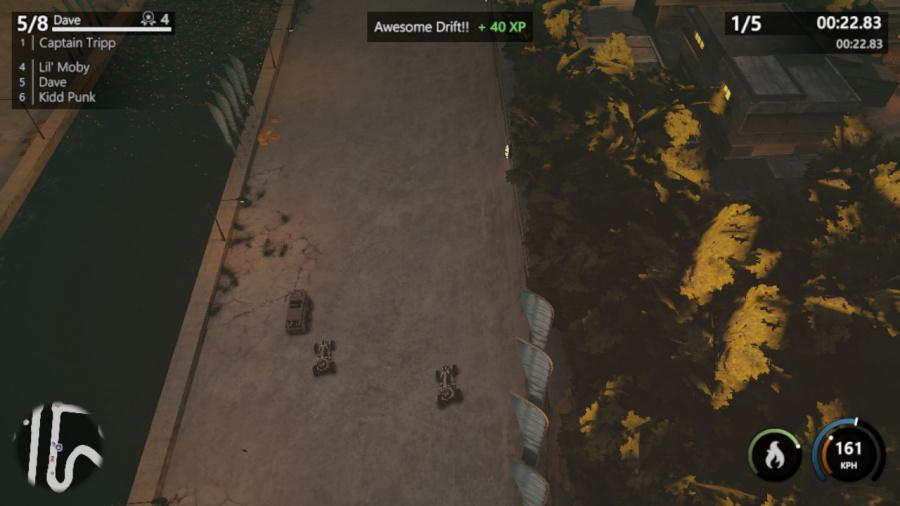 Mantis Burn Racing Review - Screenshot 7 of 8