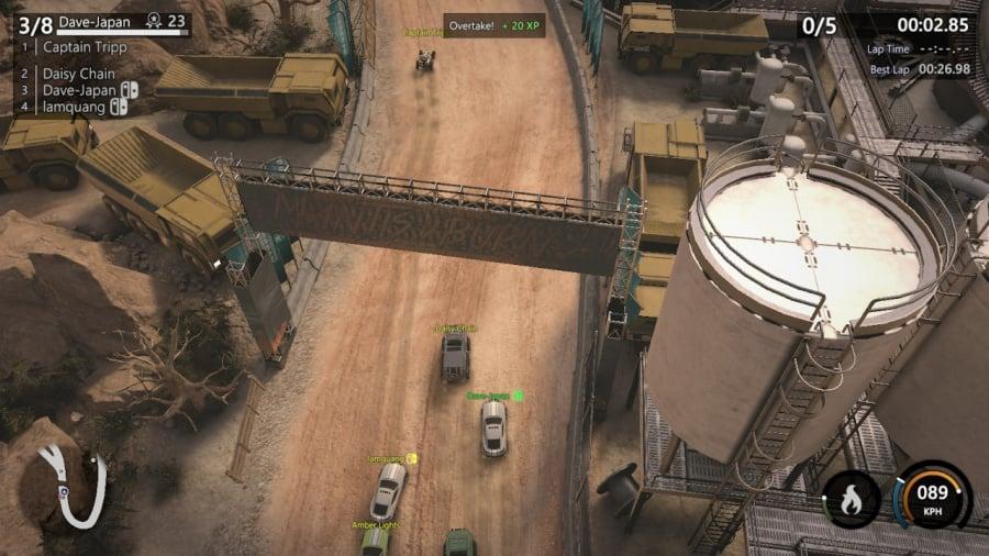 Mantis Burn Racing Review - Screenshot 4 of 8