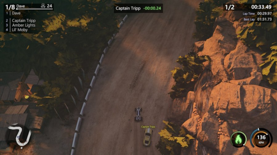 Mantis Burn Racing Review - Screenshot 1 of 8