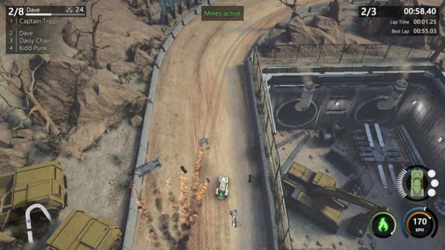 Mantis Burn Racing Review - Screenshot 1 of 6