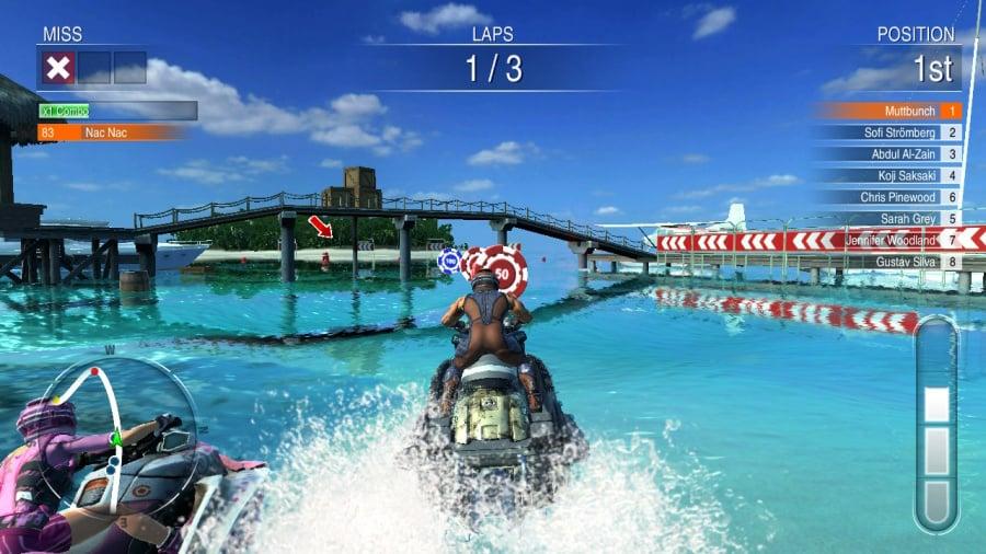 Aqua Moto Racing Utopia Review - Screenshot 5 of 5