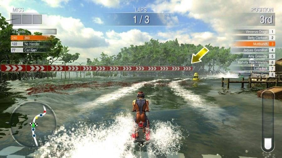 Aqua Moto Racing Utopia Review - Screenshot 2 of 5