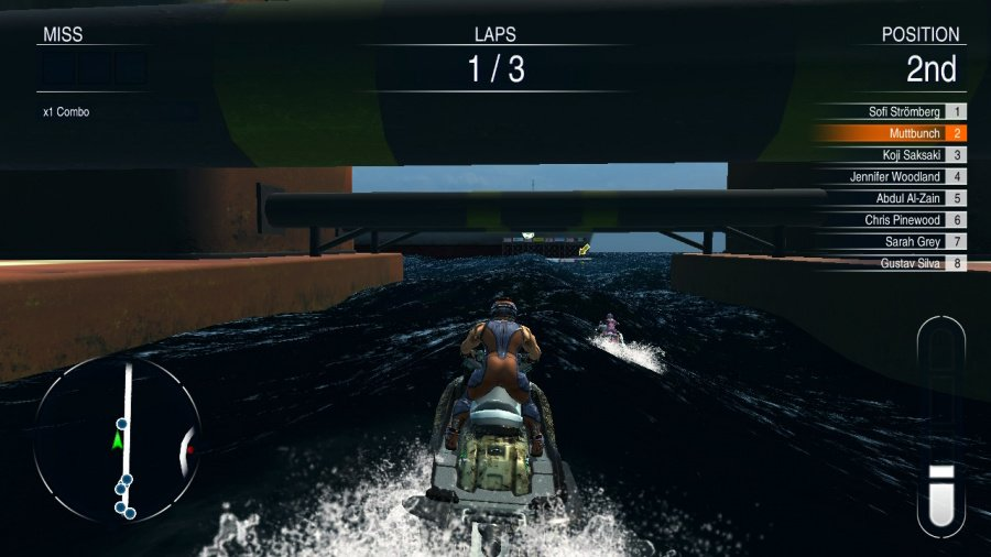 Aqua Moto Racing Utopia Review - Screenshot 3 of 5