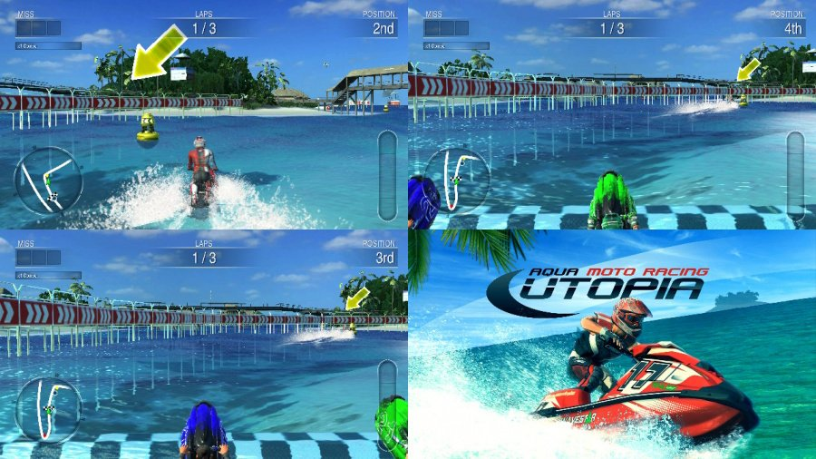 Aqua Moto Racing Utopia Review - Screenshot 4 of 5