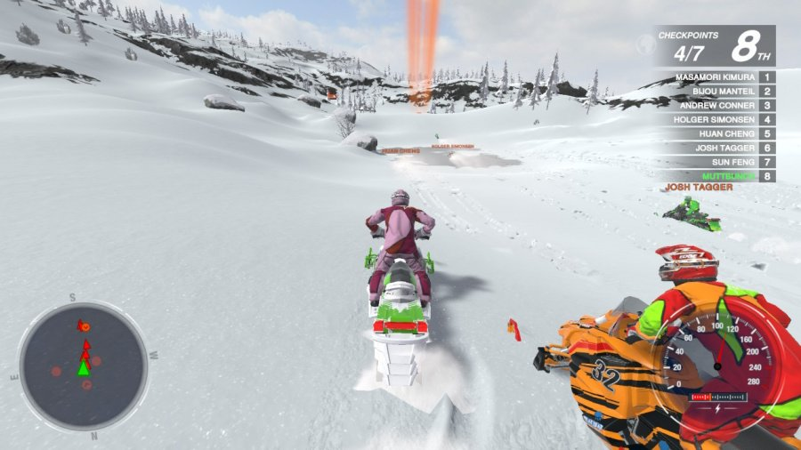 Snow Moto Racing Freedom Review - Screenshot 4 of 4