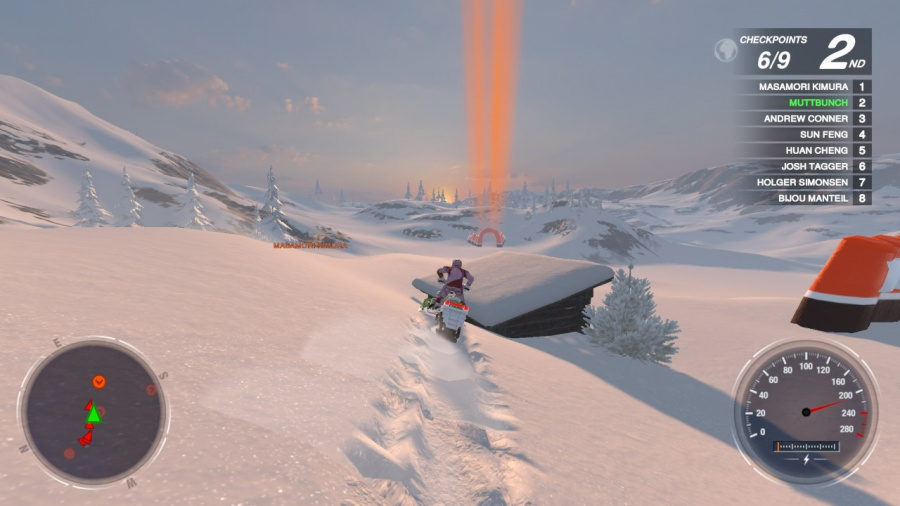 Snow Moto Racing Freedom Review - Screenshot 2 of 4