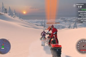 Snow Moto Racing Freedom Screenshot