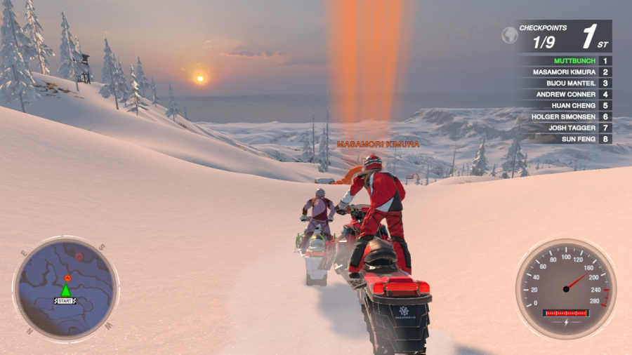 Snow Moto Racing Freedom Review - Screenshot 3 of 4