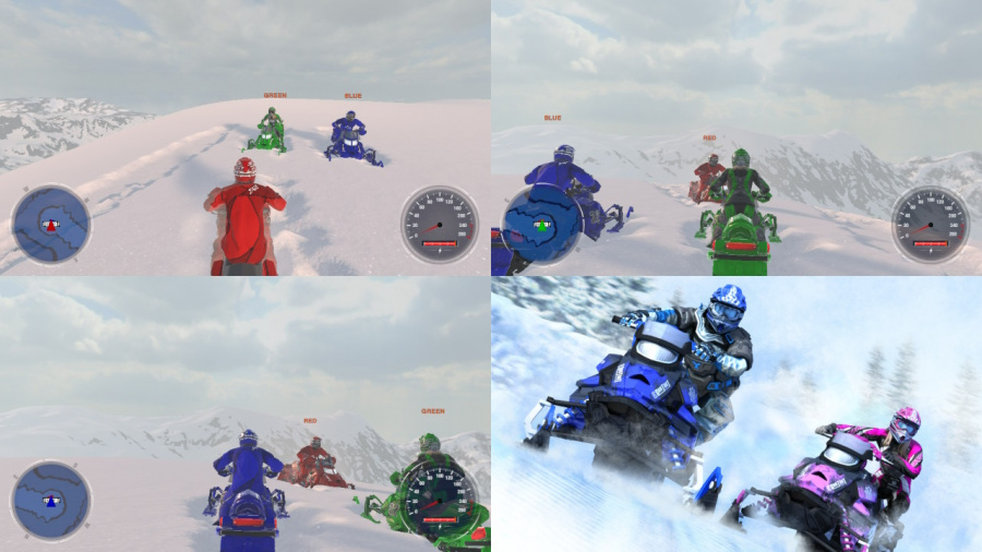 Snow Moto Racing Freedom Review - Screenshot 1 of 4