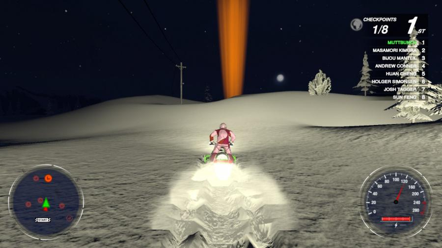 Snow Moto Racing Freedom Review - Screenshot 4 of 4
