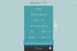 MUJO Screenshot