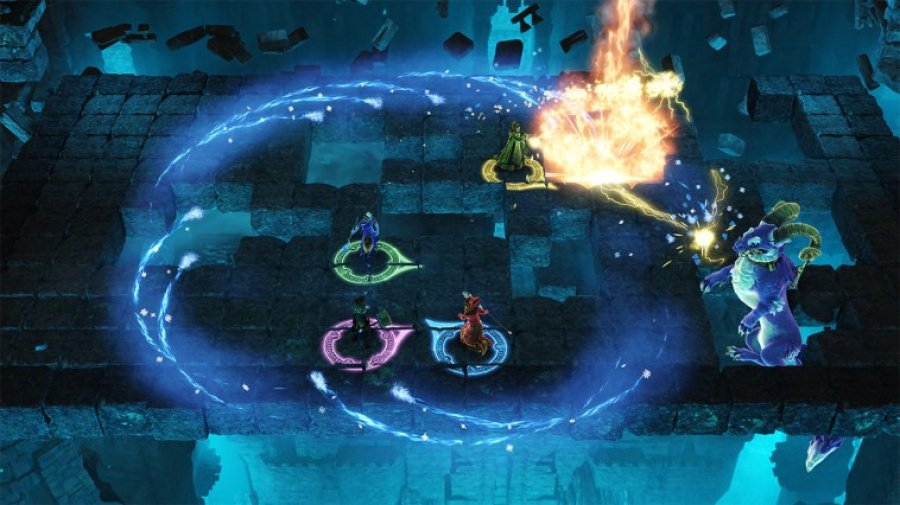 Nine Parchments Review - Screenshot 1 of 4